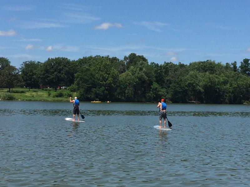 My First Time on a Stand Up Paddle Board (SUP)