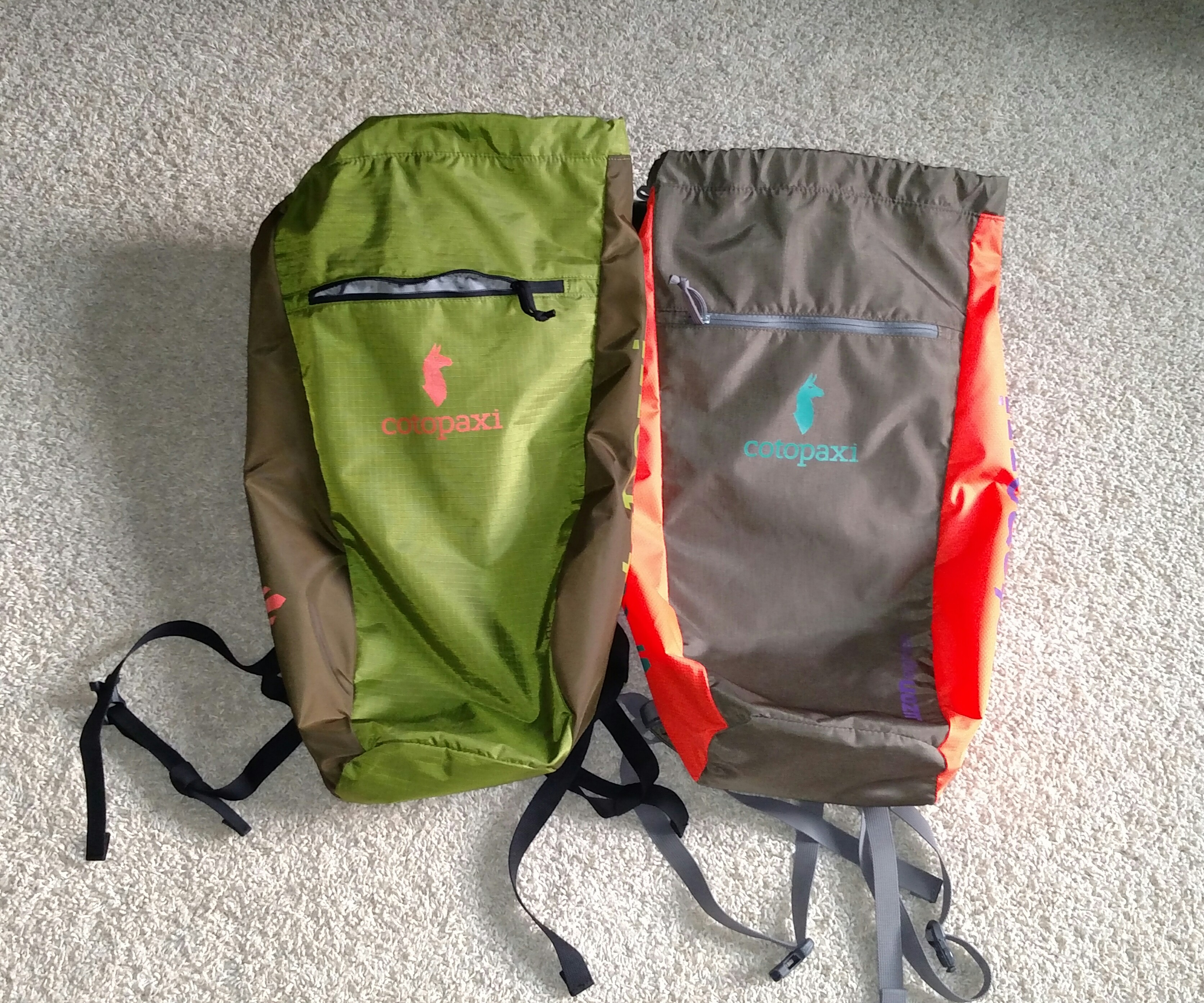 The Luzon 18L Daypack in Boba Fettish and Nekark stylings. There are also six other color schemes available.