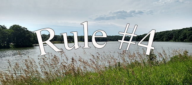 Rules for Intrepid Living: Rule #4