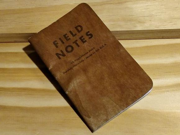 Cherry Cover Field Notes
