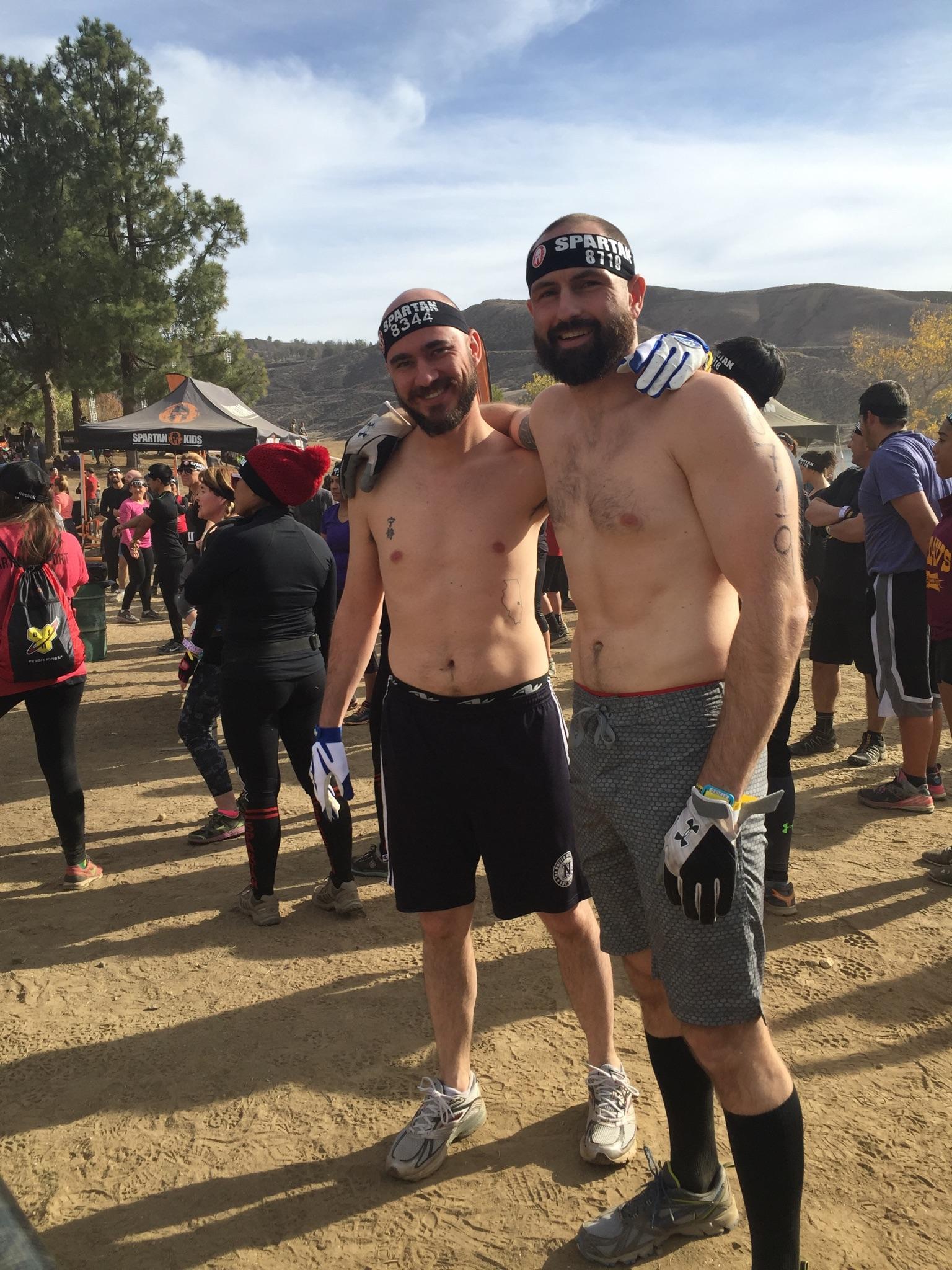 Before we ran the Spartan Sprint