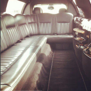 An empty limo ride