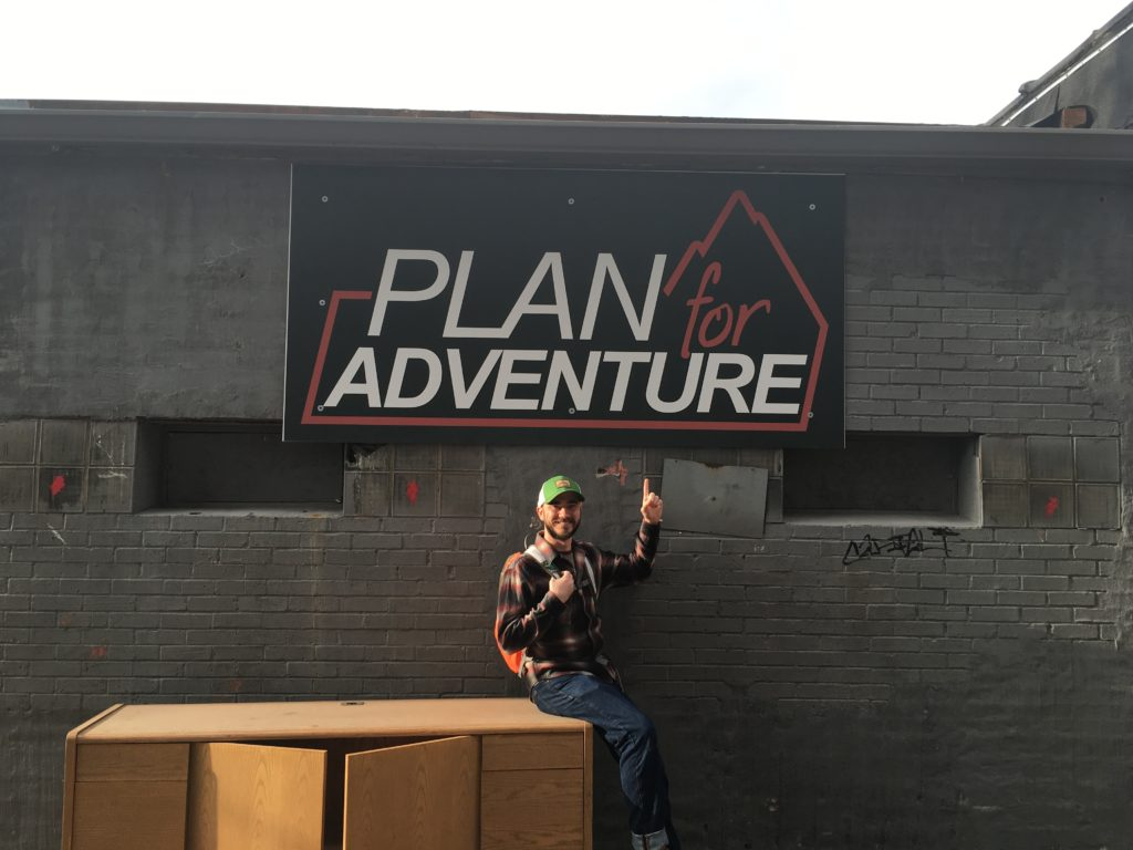 Before I even knew what Plan for Adventure was all about.