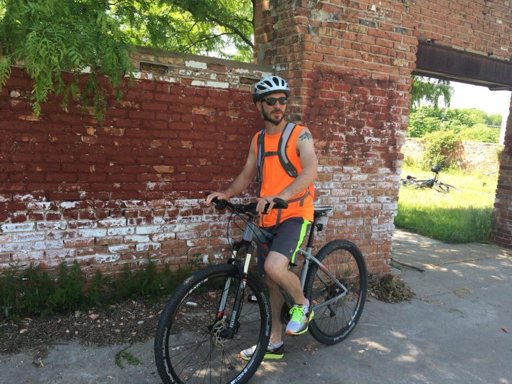 Bicycle in Sylvan Slough Naturalized Park