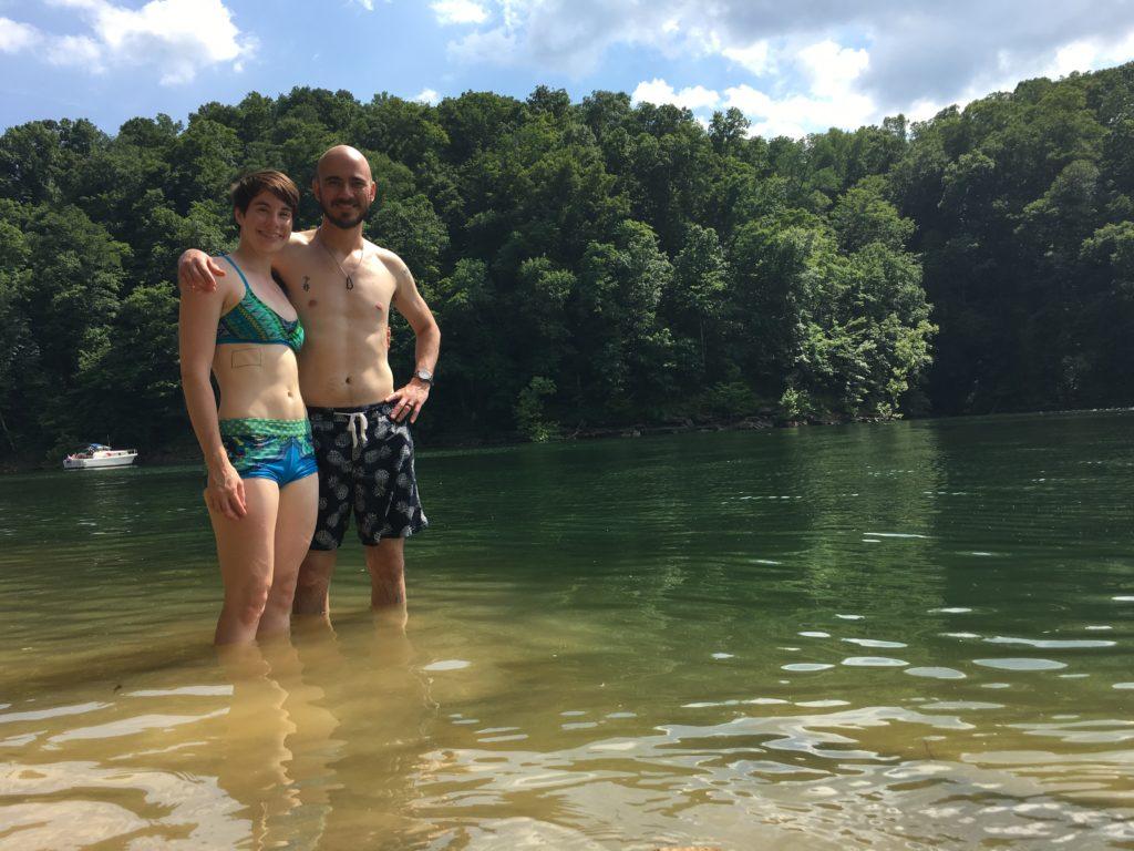 Swimming in Lake Cumberland