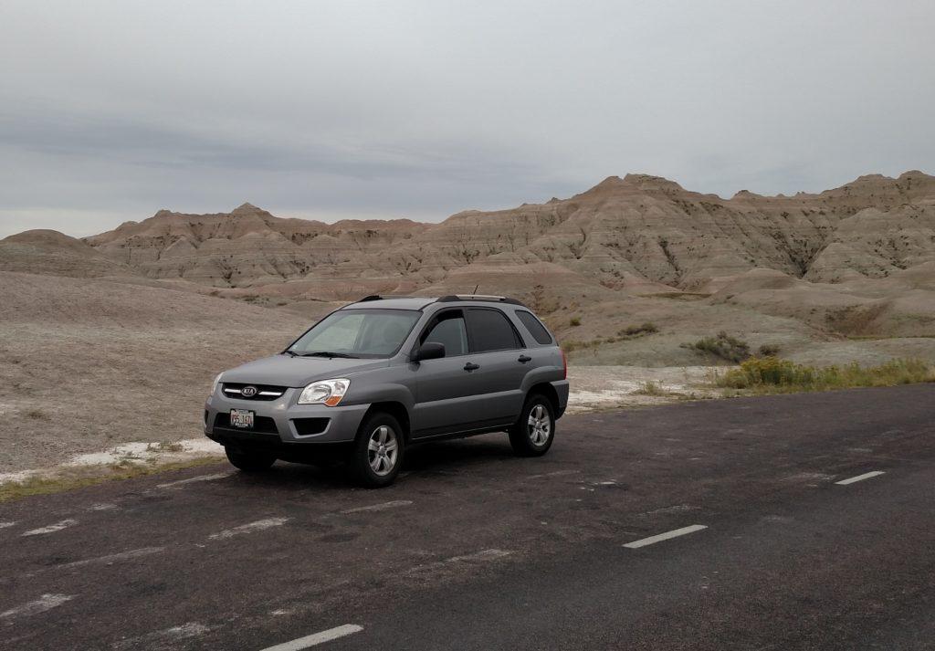Kia Sportage, our Road Trip vehicle