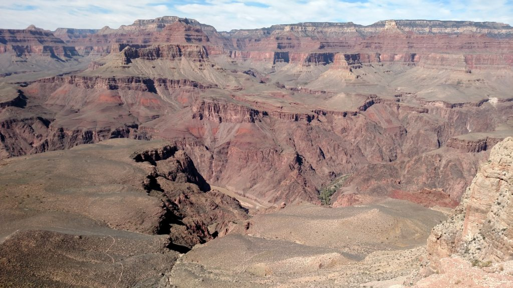 Skeleton Point on the South Kaibab Trail