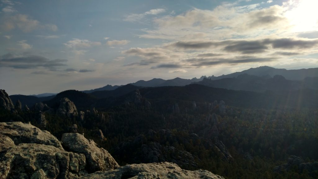 The view from the summit of Old Baldy.