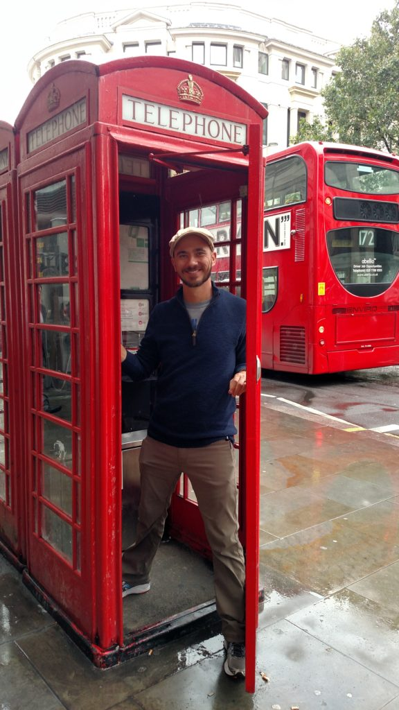 London Phone Booth