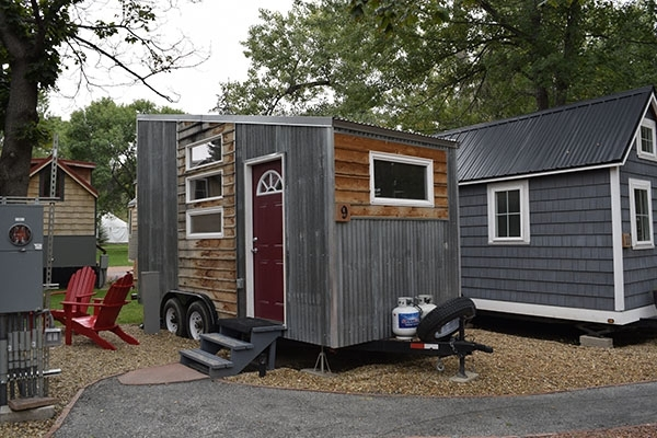 Tiny house at WeeCasa