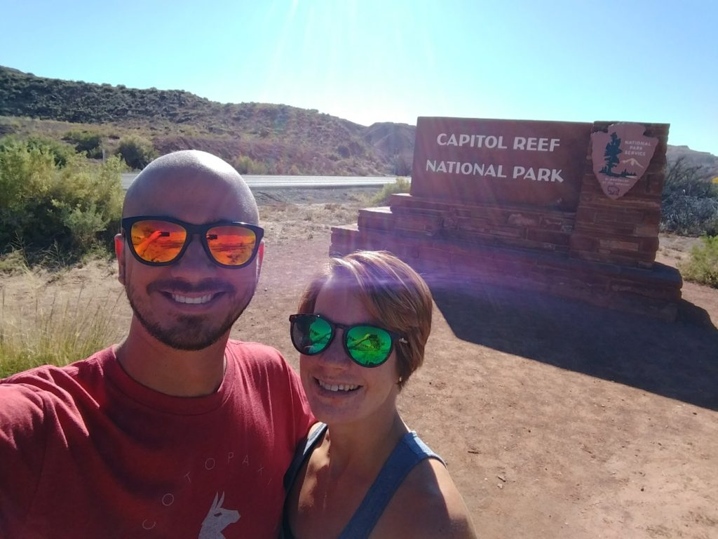 Welcome to Capitol Reef National Park!