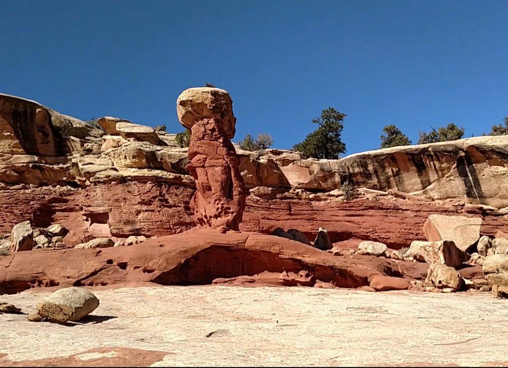Cohab Canyon hoodoo