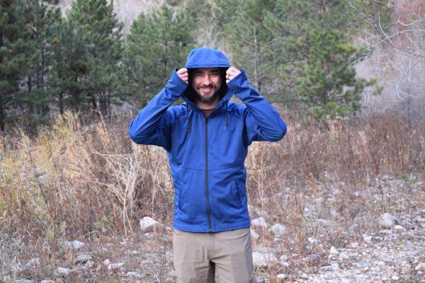 Yesler technical hoodie