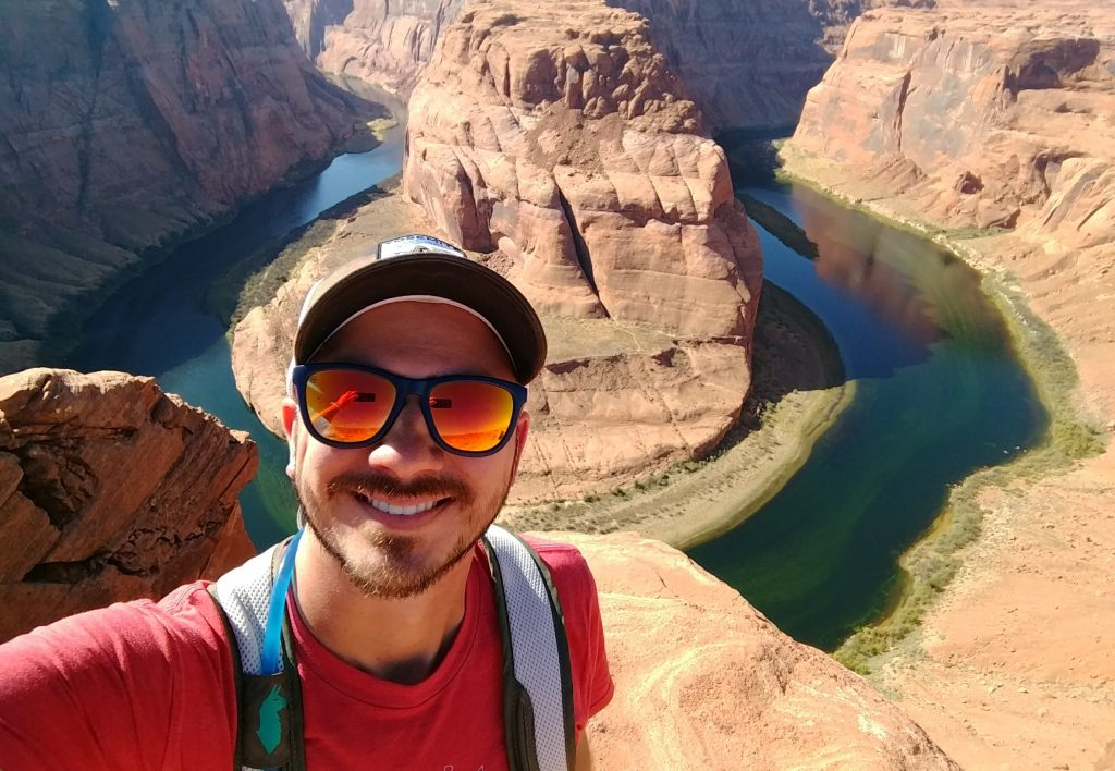 Knockaround Sunglasses at Horseshoe Bend: a great outdoor gift