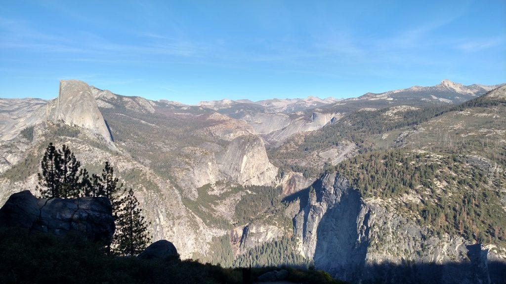 Yosemite National Park, Glacier point