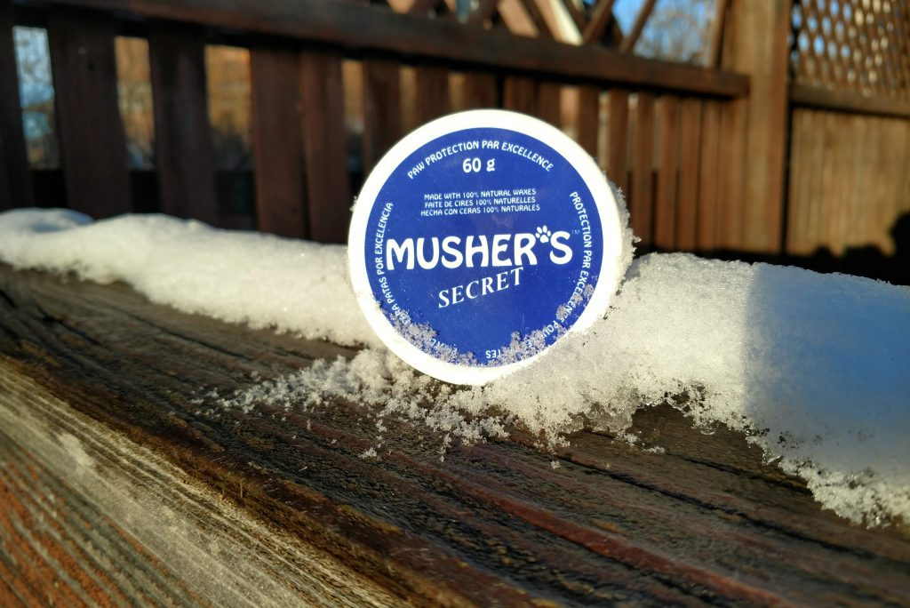 Musher's Wax - the secret to becoming a winter dog!