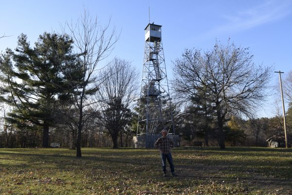 When you decide to head out and have an adventure right now, you never know what you'll find — like this fire tower
