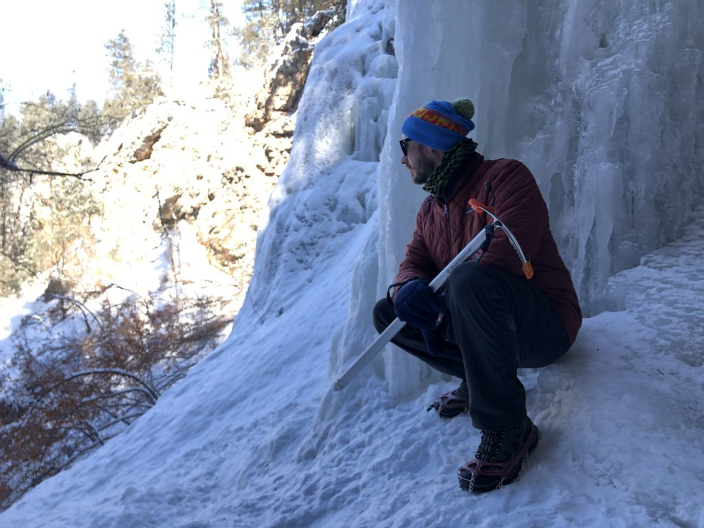 Ice Ice Baby: Hiking Spearfish Canyon's Community Caves in Winter