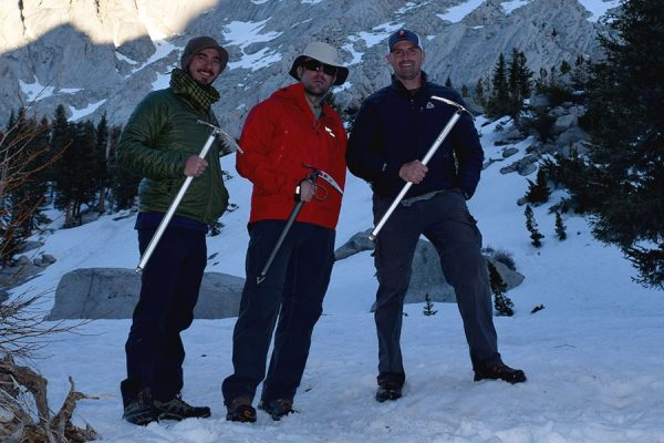 Another aspect of my mount Whitney experience — the ice axe that saved my ass.