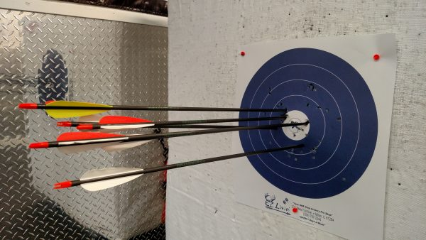 I haven't kept up with my archery goals, largely because I haven't kept myself on task