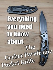 The Gerber Paraframe Pocketknife is a solid little folding know that won't break the bank. If you're looking for a good pocket knife for everyday carry, here's everything you need to know about the Paraframe.