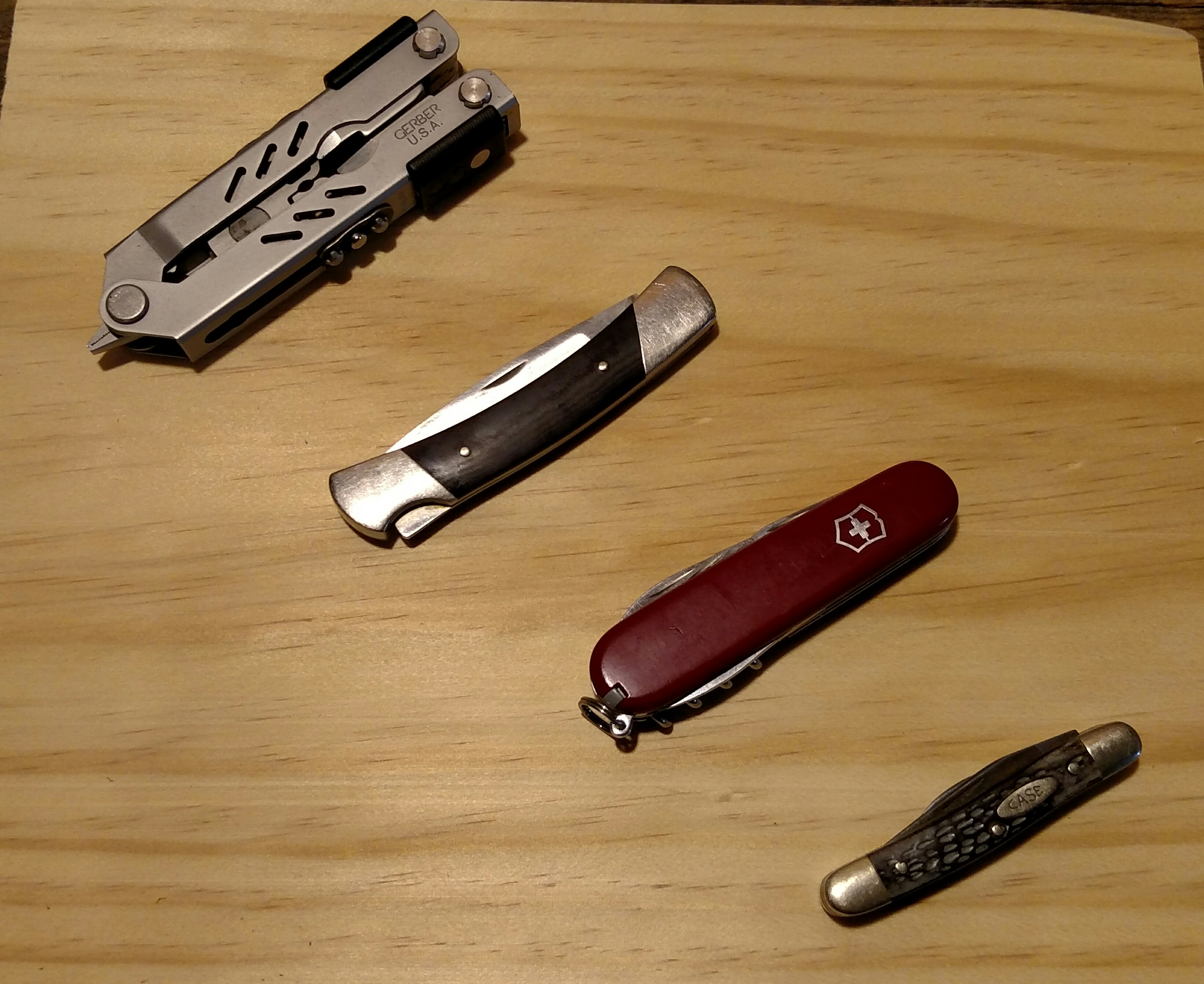 A few of the knives I've had over the years.
