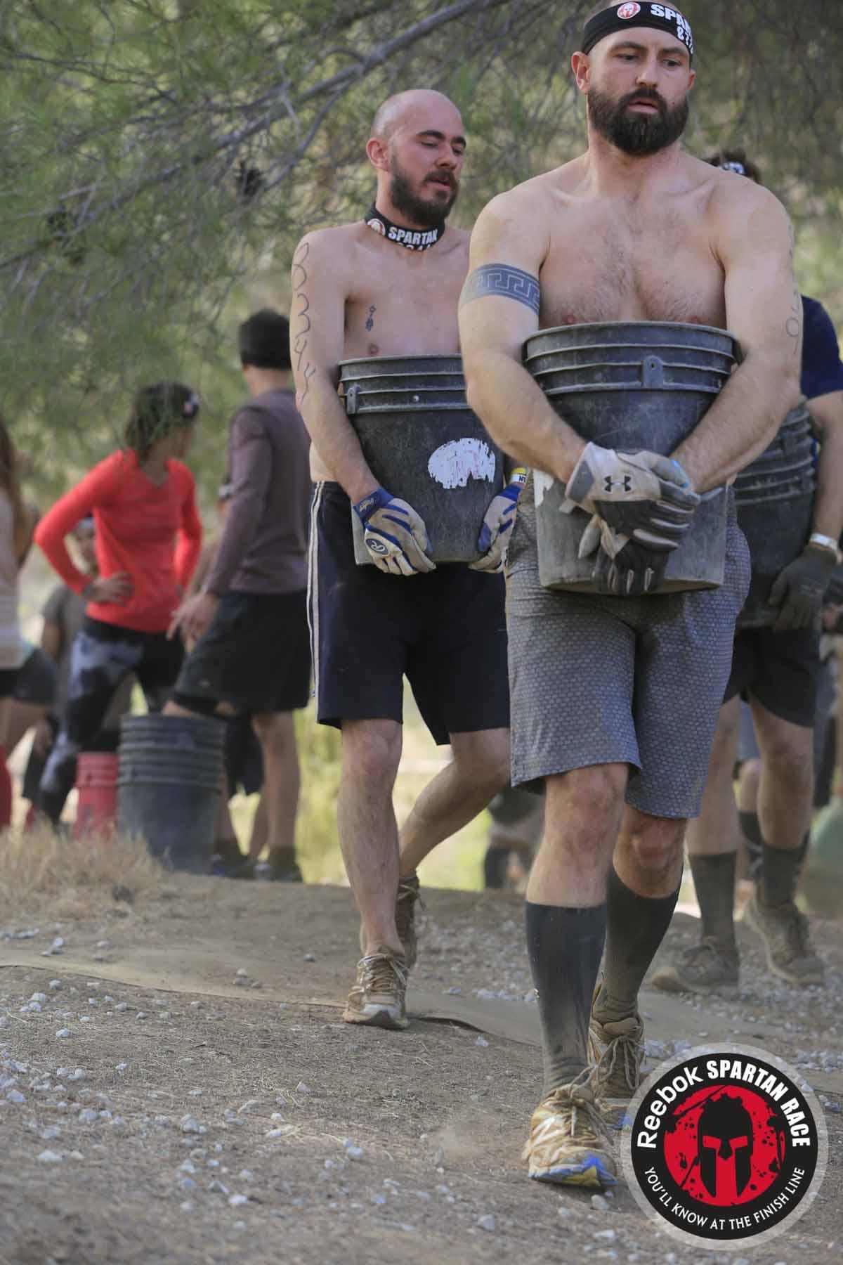 Spartan Sprint, bucket haul