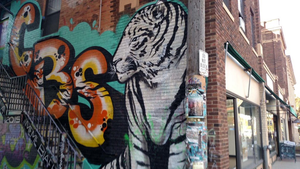 Street Art in Art Alley