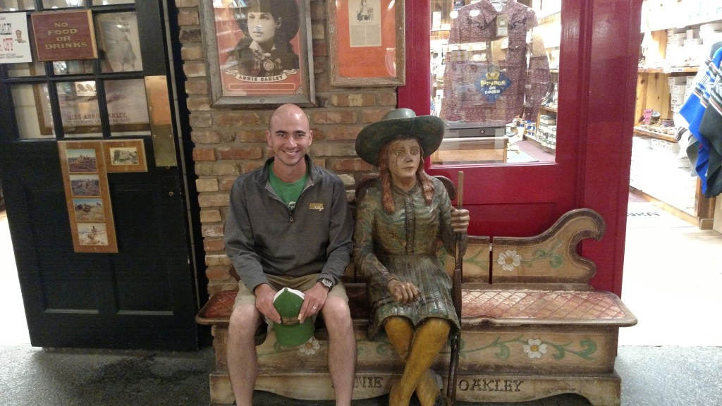 Annie Oakley at Wall Drug