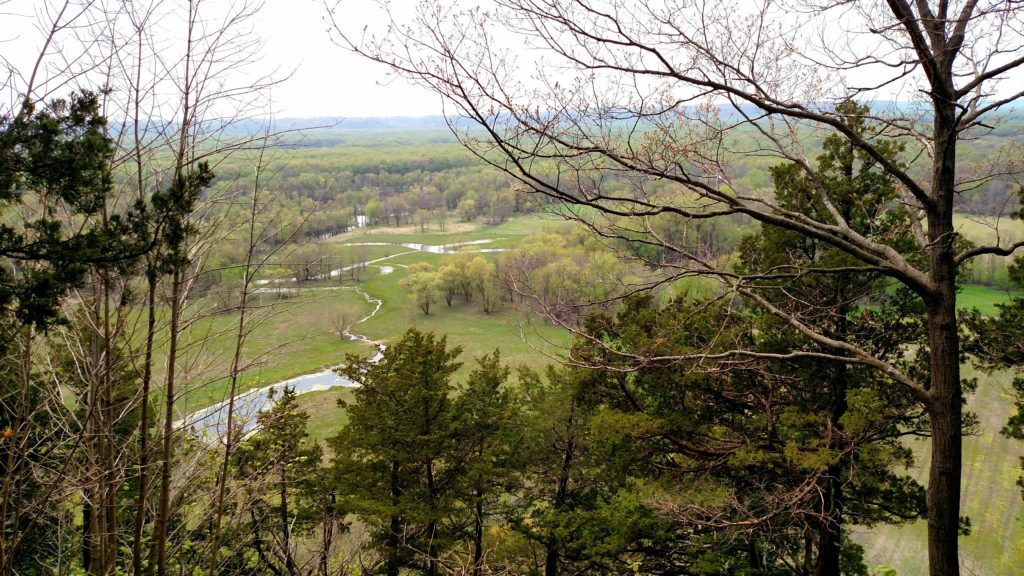 Overlook on High Point Trail