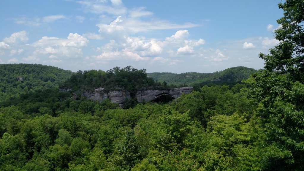 Natural Arch in the Daniel Boone National Forest