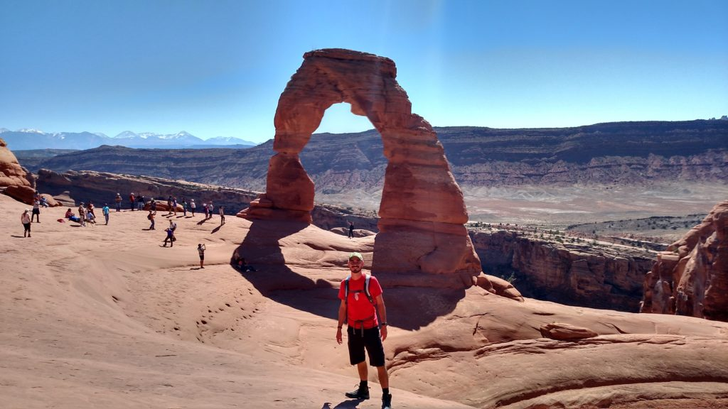 Delicate Arch is incredible!