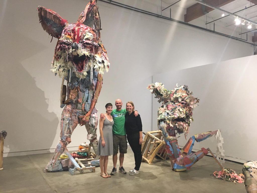 Sculptures by Elisabeth Higgins O'Connor.