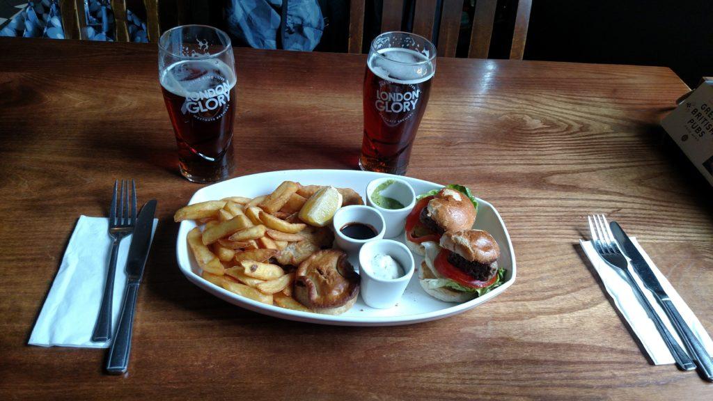 Delicious pub snacks in London