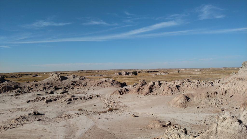 Plains where Saddle Pass meets CastleTrail