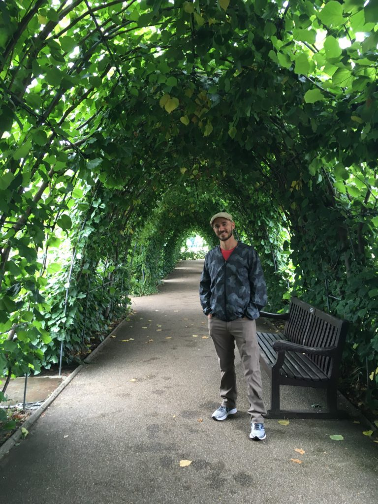 Raincoat in Kensington Gardens