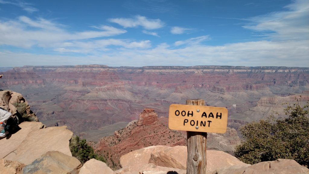 Ooh Aah Point on South Kaibab Trail