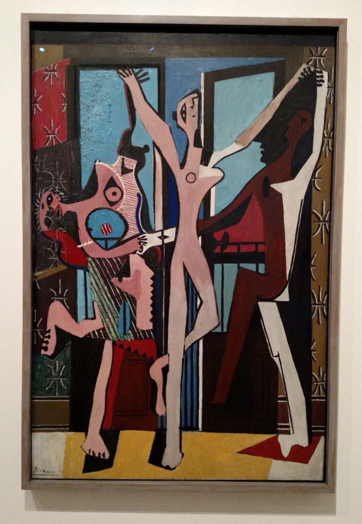 "Picasso's ""The Three Dancers."""