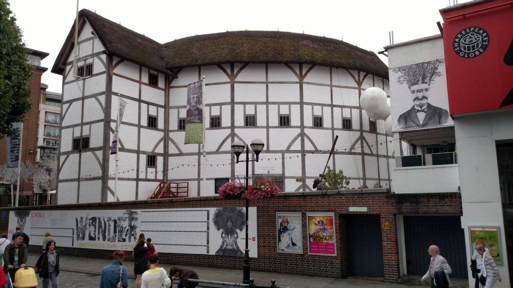 Shakespeare's Globe.