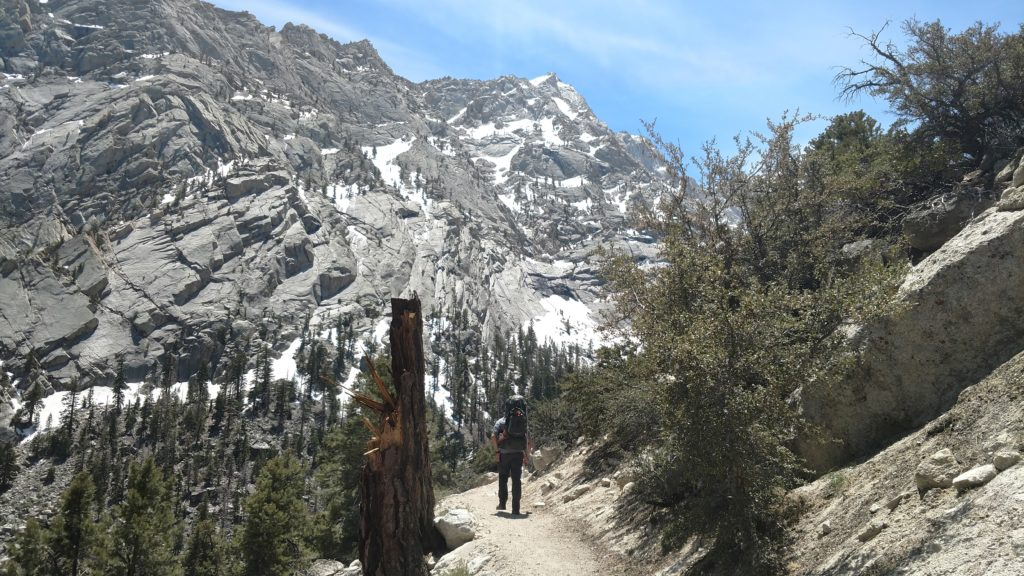 Mount Whitney Trail, Ice Axes, and Crampons: Mount Whitney Part One