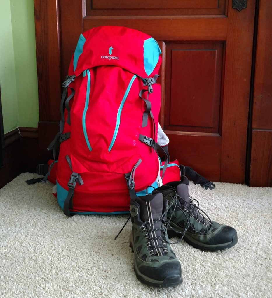 All packed and ready to go
