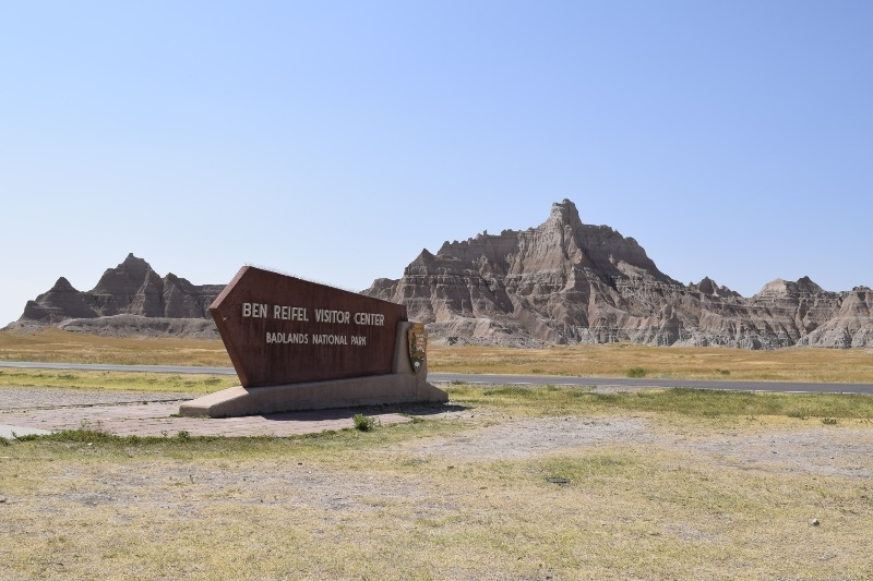 Badlands National Park Ben Reifel Visitor Center