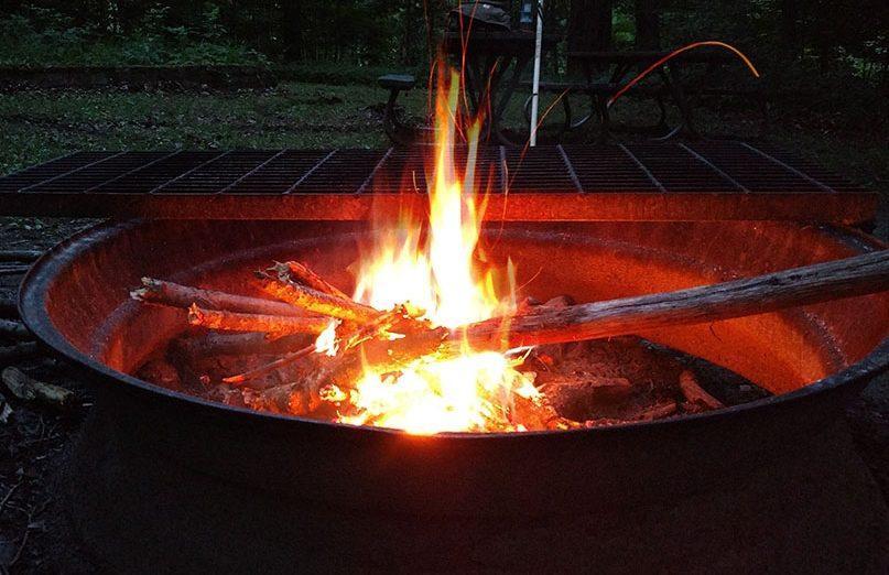 Campfire smoke