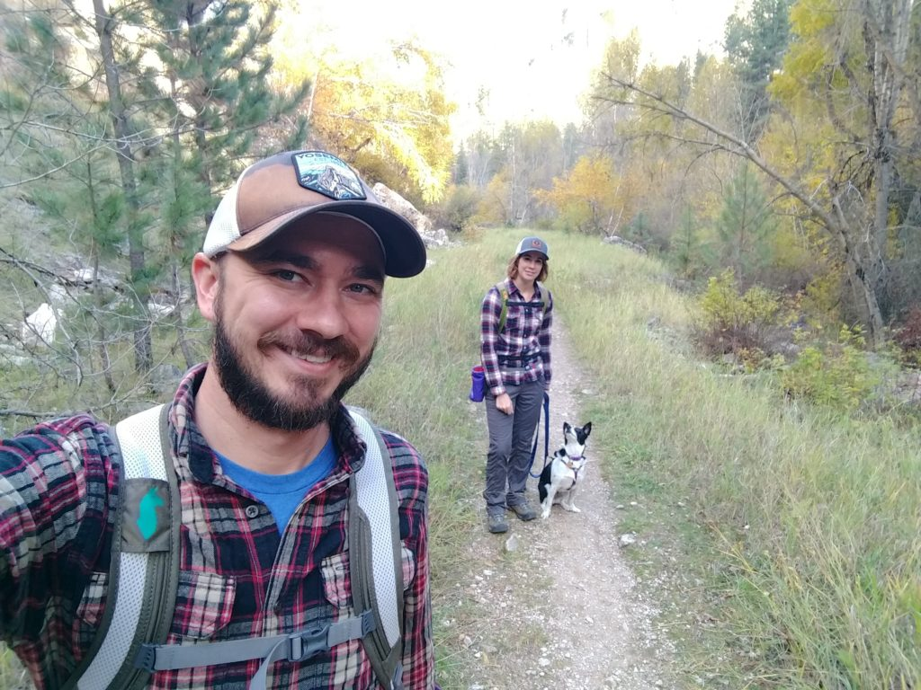 Iron Creek Trail, our first family hike in our new home
