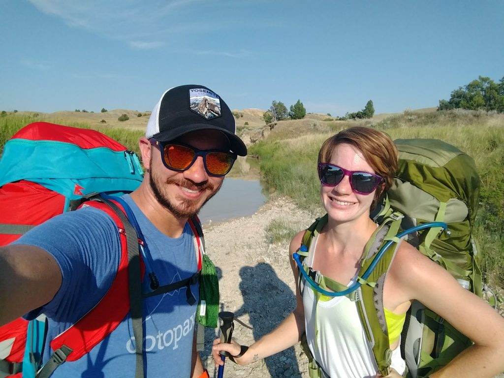 Backpacking in Badlands National Park