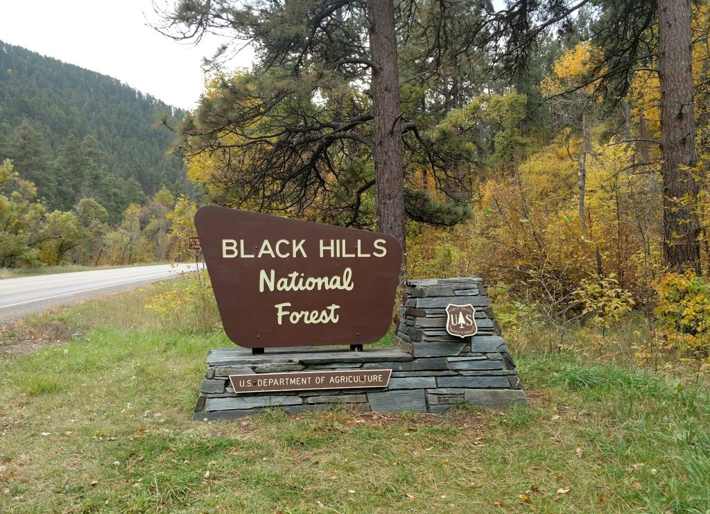 Black Hills sign - symbolic of getting everything you want!