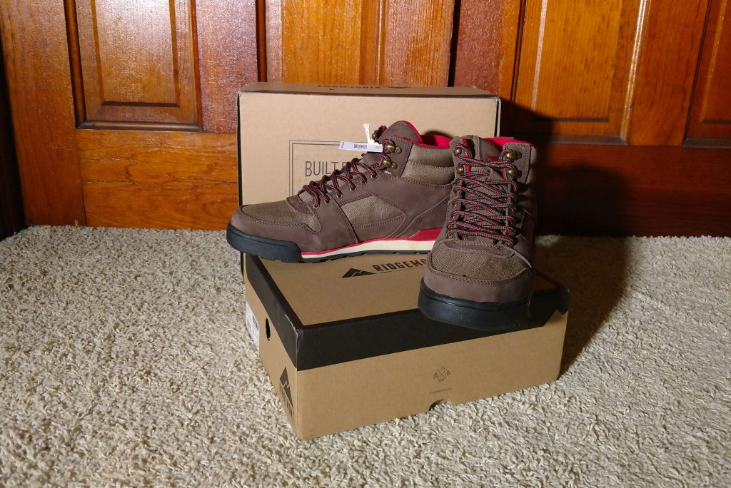 The new Ridgemont Outfitters Monty Hi hiking boots