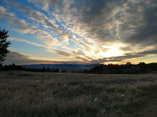 Sunrise over Spearfish