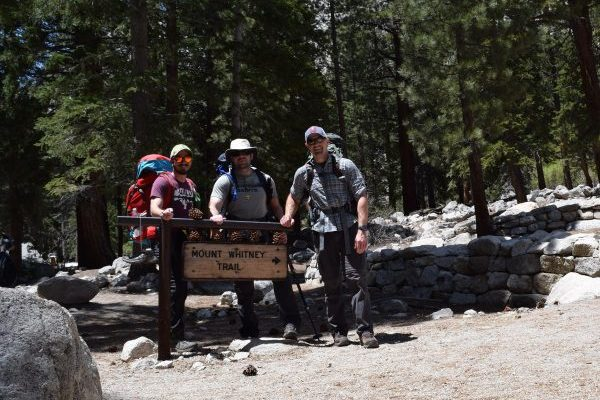 My Mount Whitney experience started innocently at the trailhead with two friends.