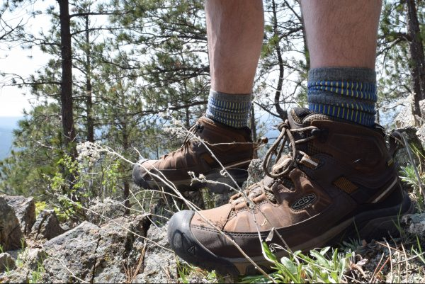 The Keen Targhee III hiking boots